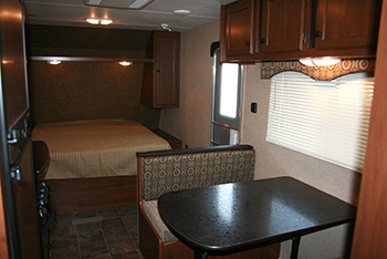 Dining and Queen Bed